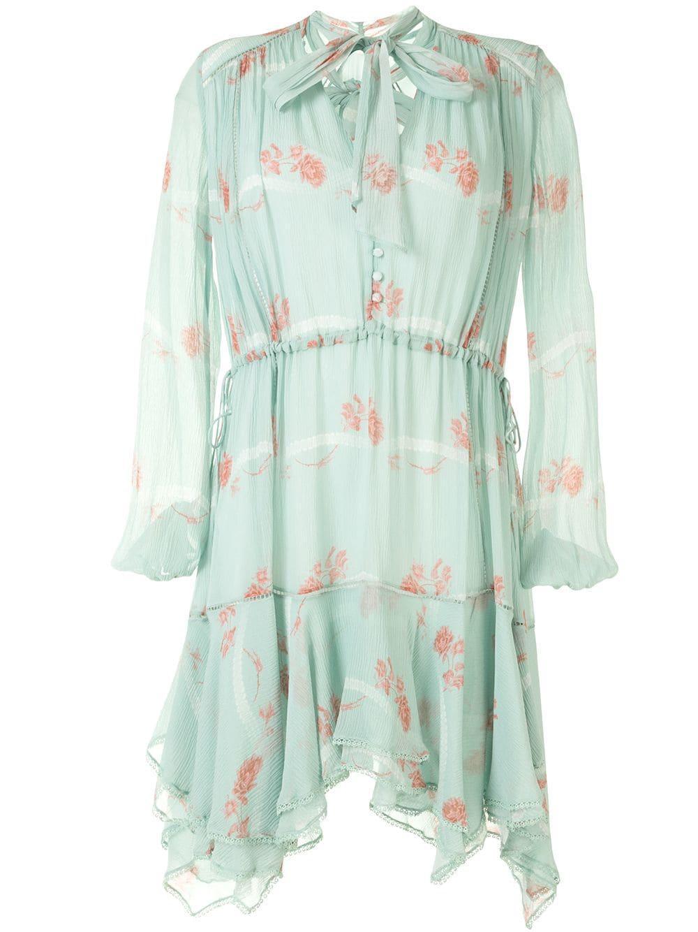Irena Rose Silk Dress Item # 220-1130-U