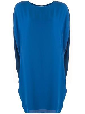 Short Sleeve Cocoon Dress
