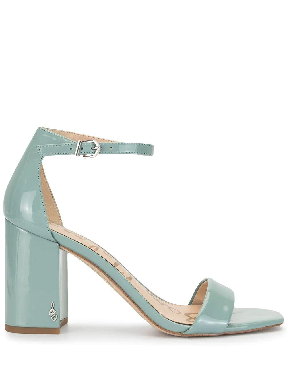 Daniella Patent Block Heel Sandal