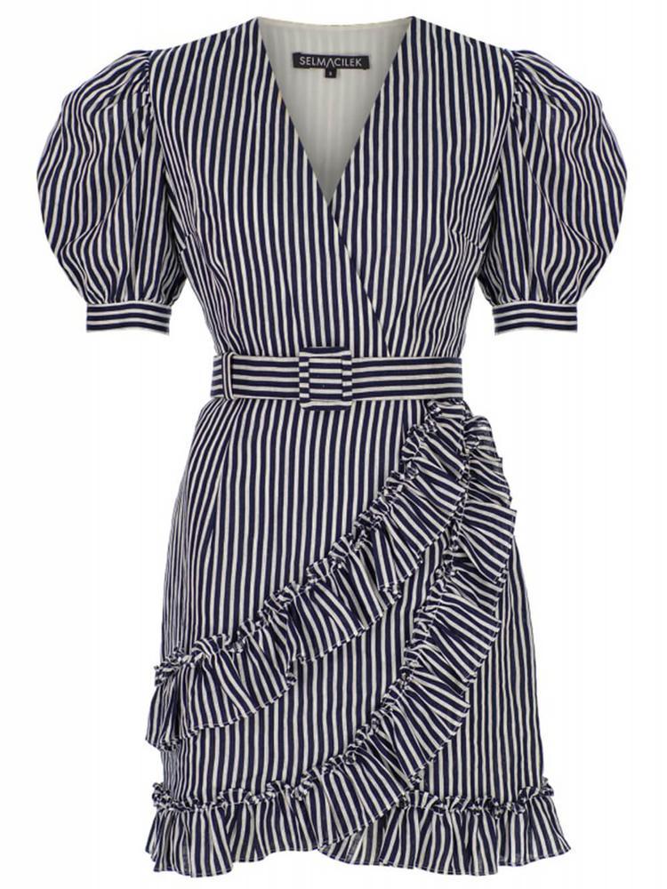 Puff Sleeve Dress Item # SS2042