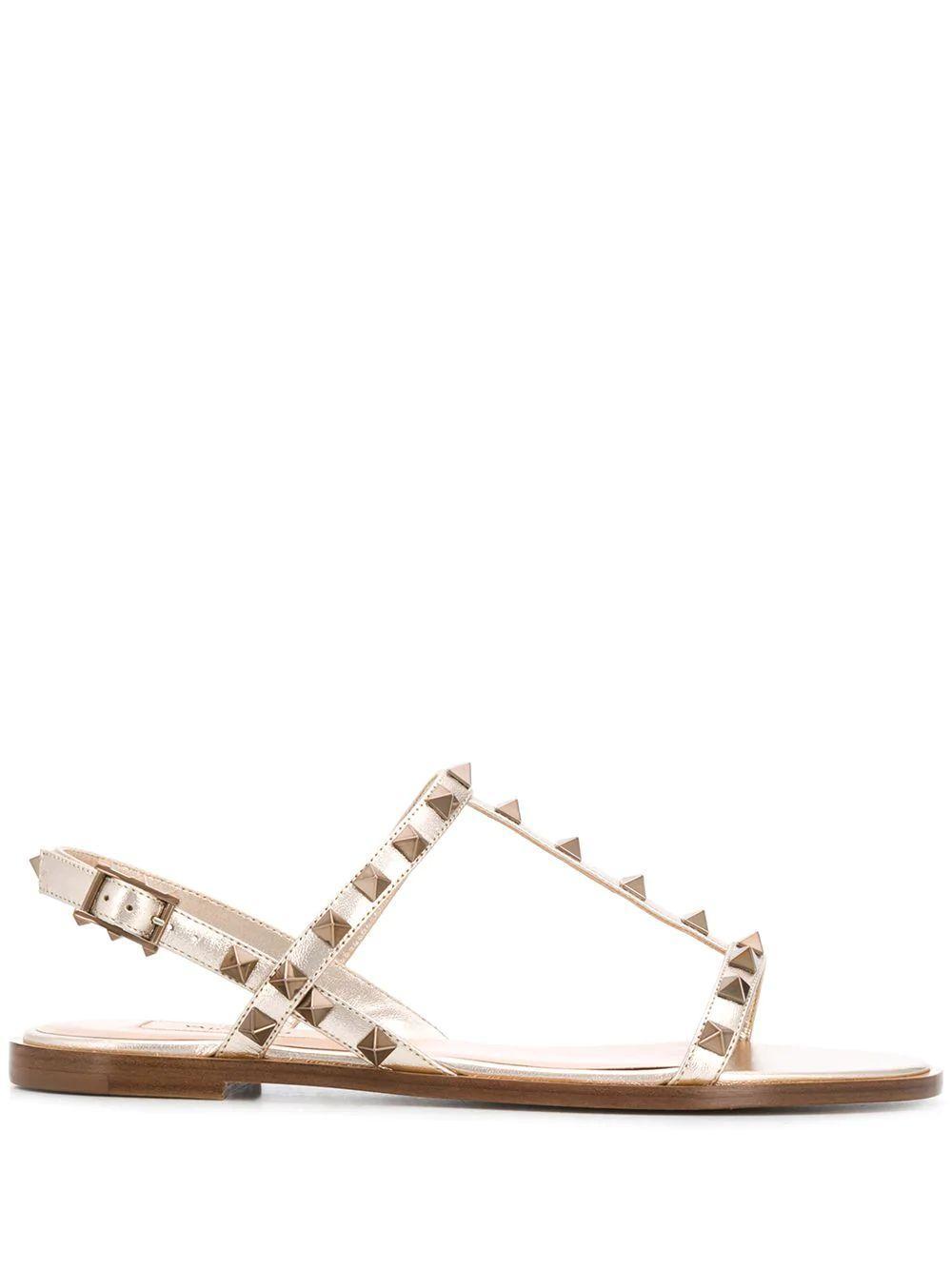 Rockstud 5mm T-Strap Sandal