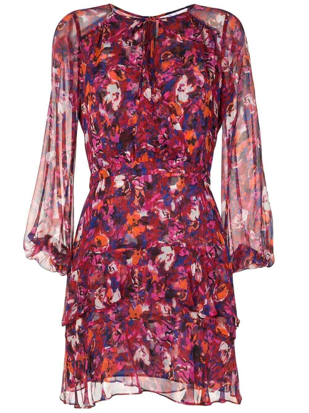 Marengo Ruffle Dress Item # P9L5954PCF