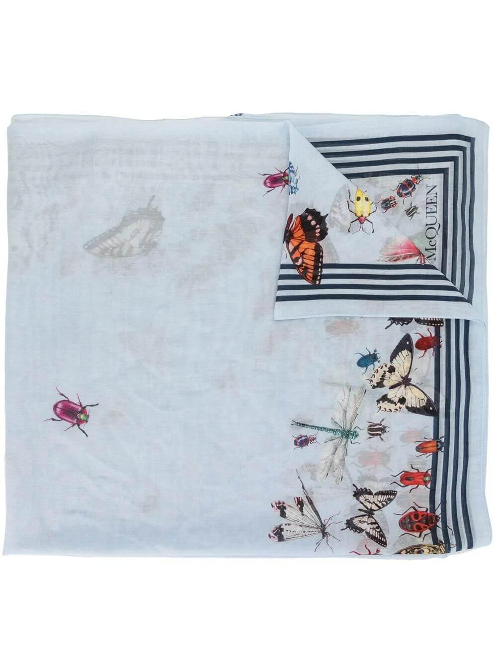 Butterfly Print Scarf Item # 6210133624Q