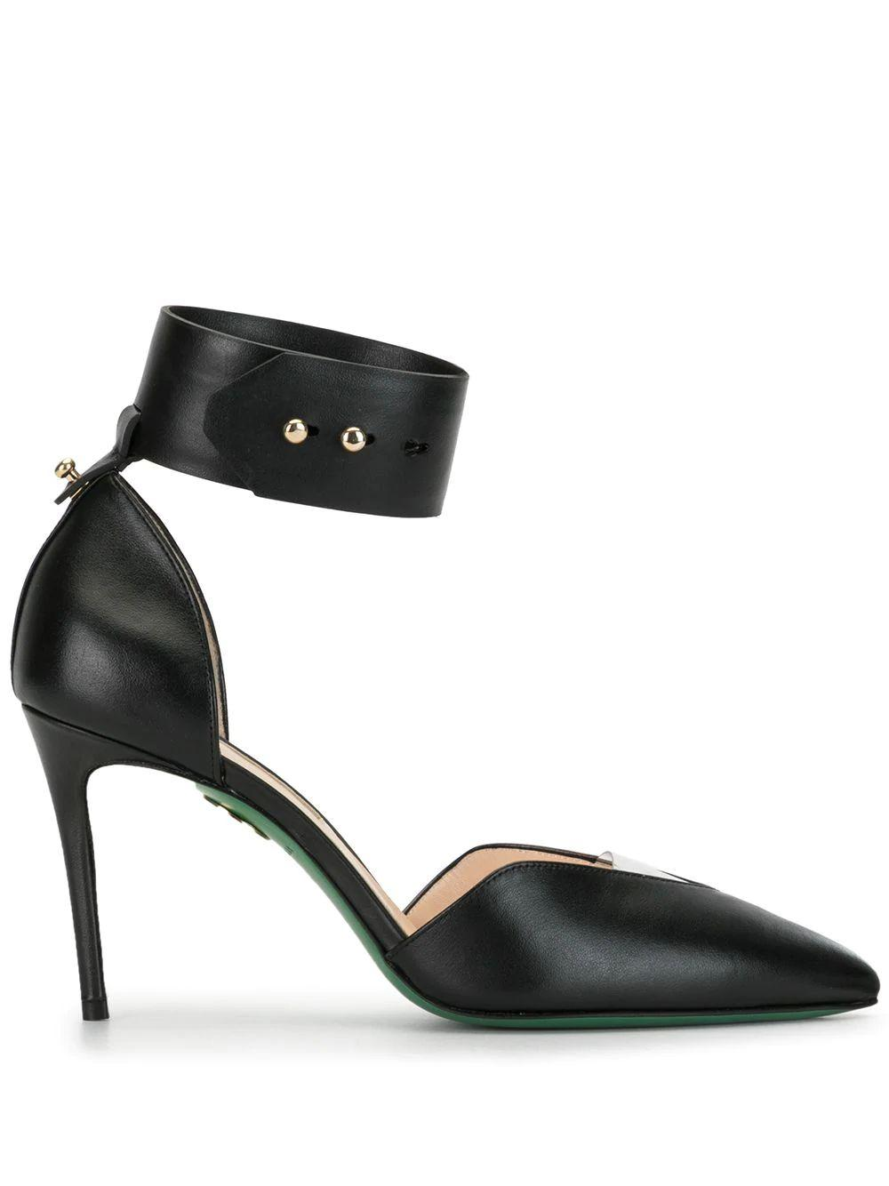 Sara 90mm Pump With Ankle Cuff Item # S-007-01-L