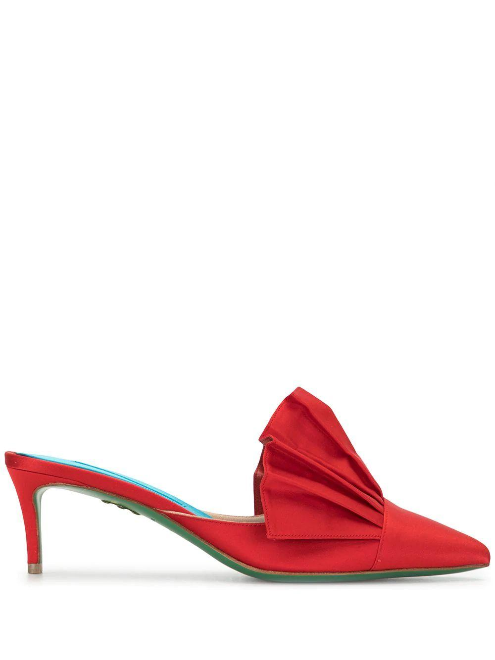 Fifth Avenue 55mm Pleated Mule Item # S-004-18
