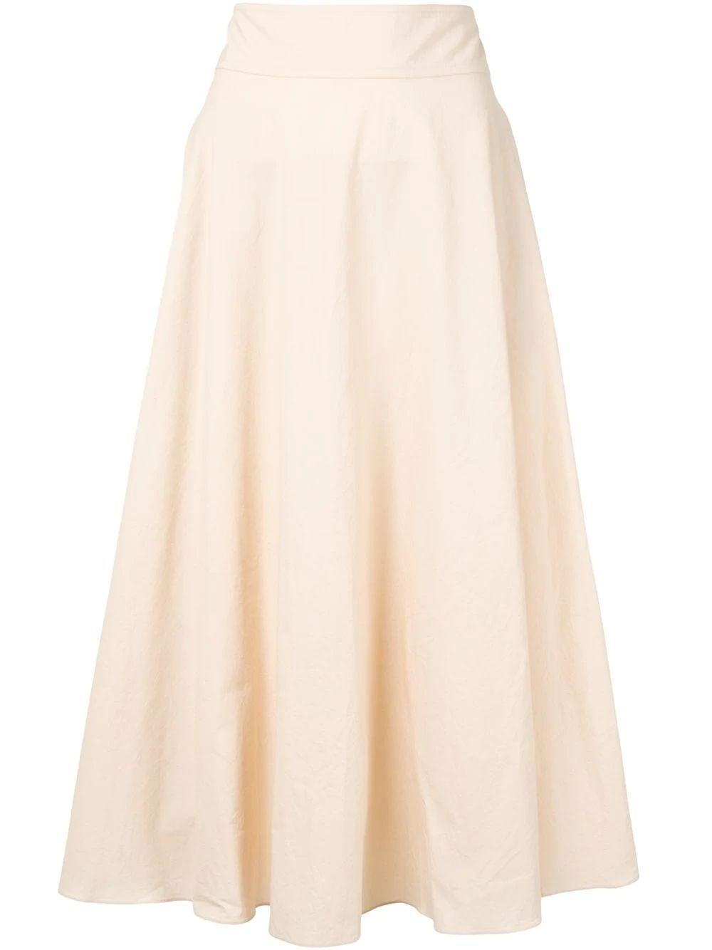 Ninette Textured Cotton Skirt Item # 1032 09 135 5099