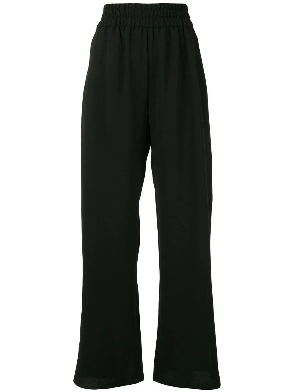 Poula Elastic Wide Leg Pant