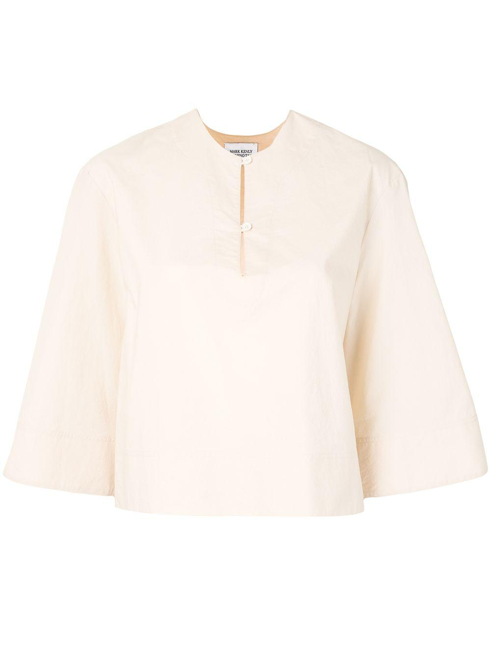 Bia Bell Sleeve Cotton Blouse Item # 1046 01 135 5099