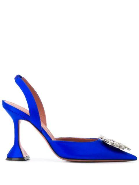 Begum 95mm Satin Slingback