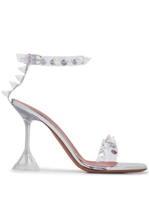 Julia Transparent 95mm Heel