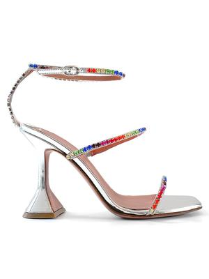 Gilda Sandal With Rainbow Crystals