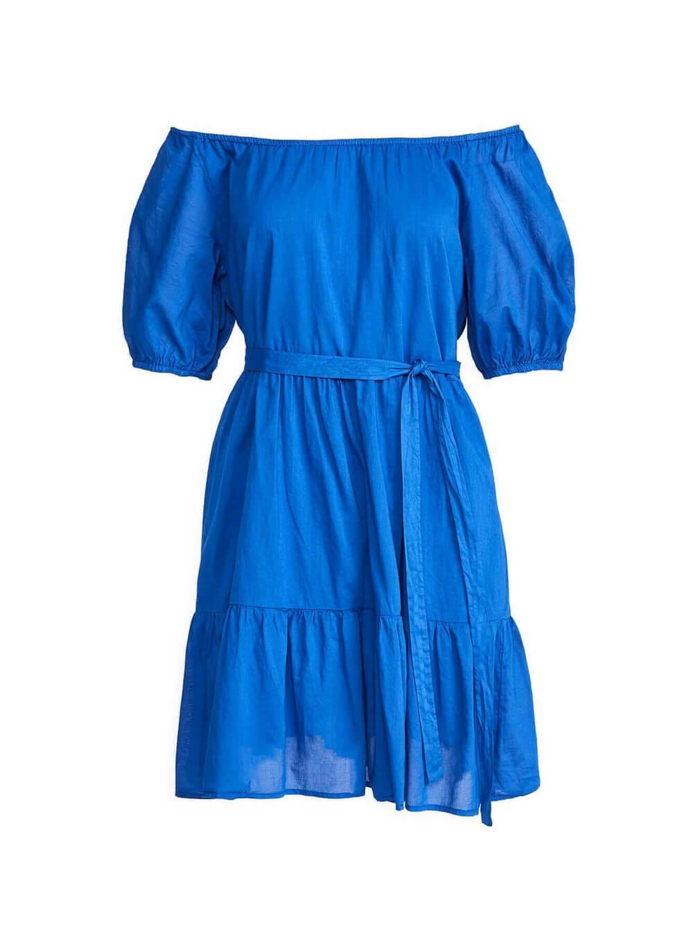 Renelle Off Shoulder Tiered Dress Item # RENELLE04