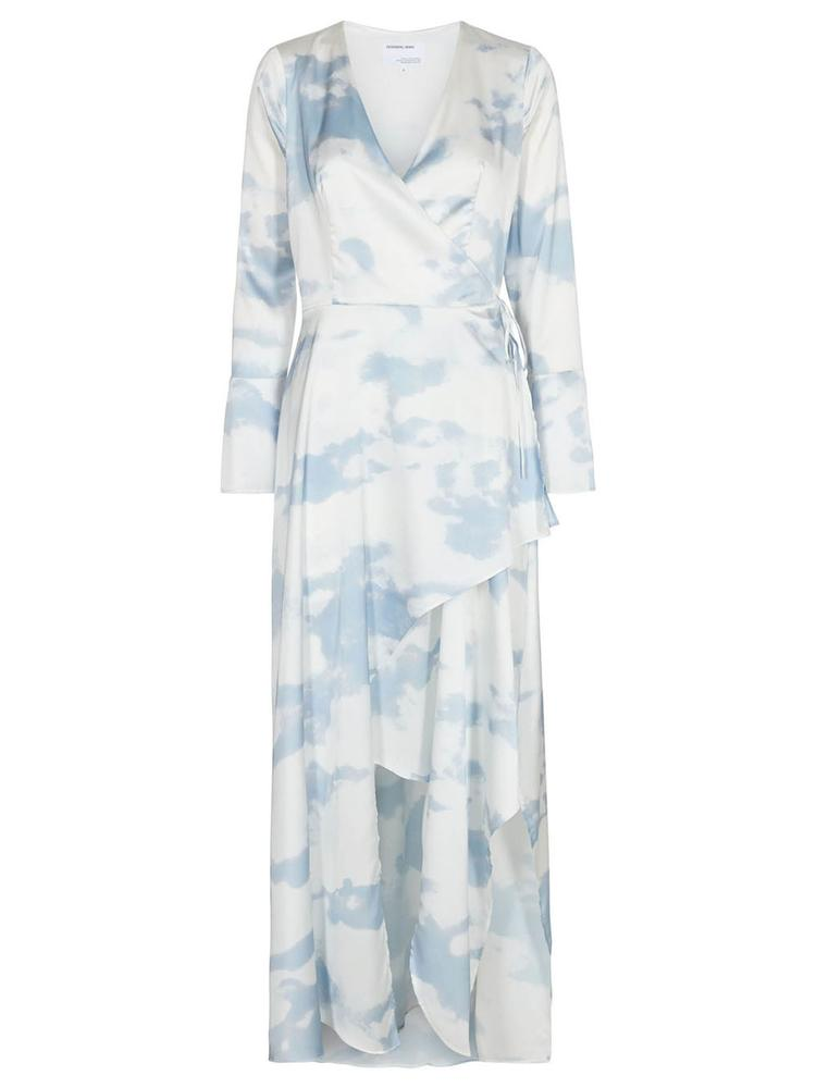 Kacy Long Wrap Dress Item # 16029