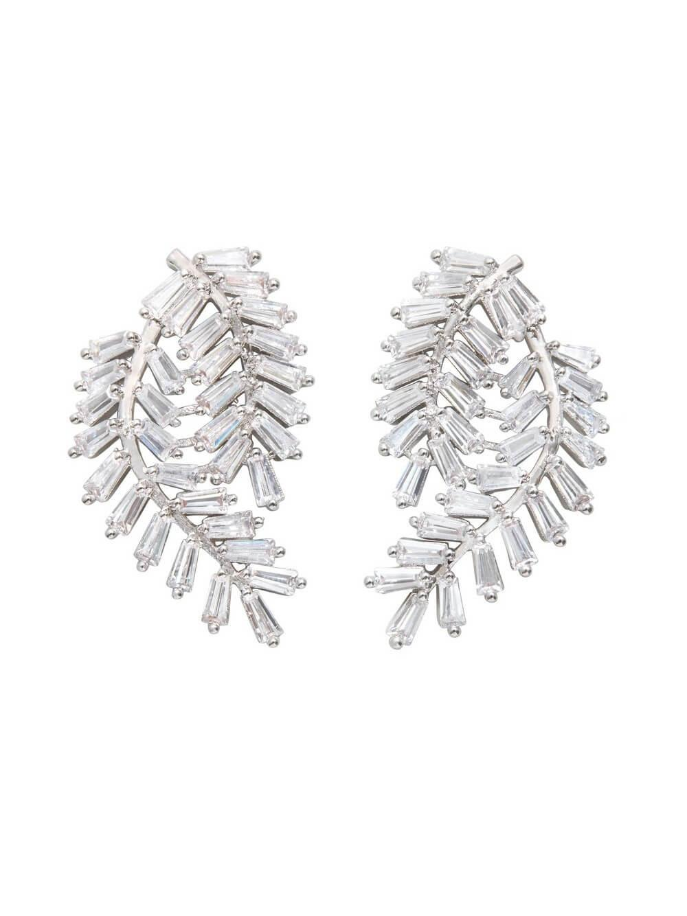 Deco Fern Earrings Item # FE11928