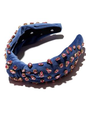 Knotted Candy Jeweled Headband