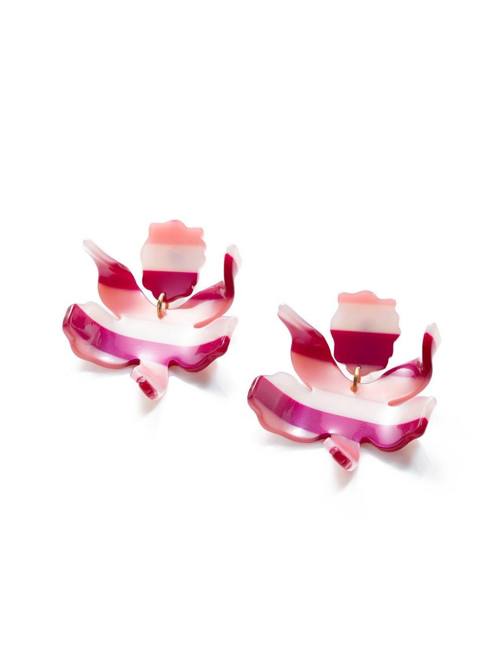 Small Paper Lily Earrings Item # LS0592BS