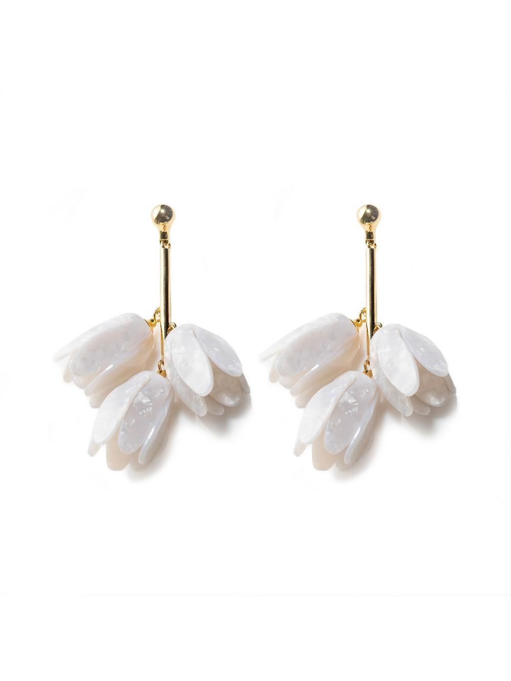 Magnolia Bouquet Earrings Item # LS0973MP