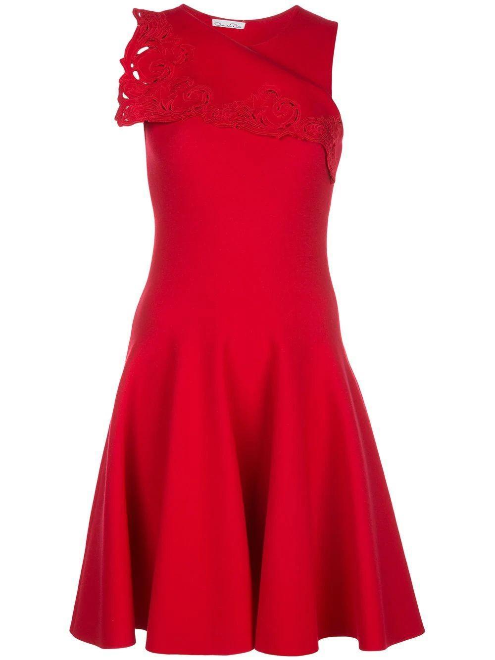 Foldover Sleeveless Dress Item # 20PE1702LCS
