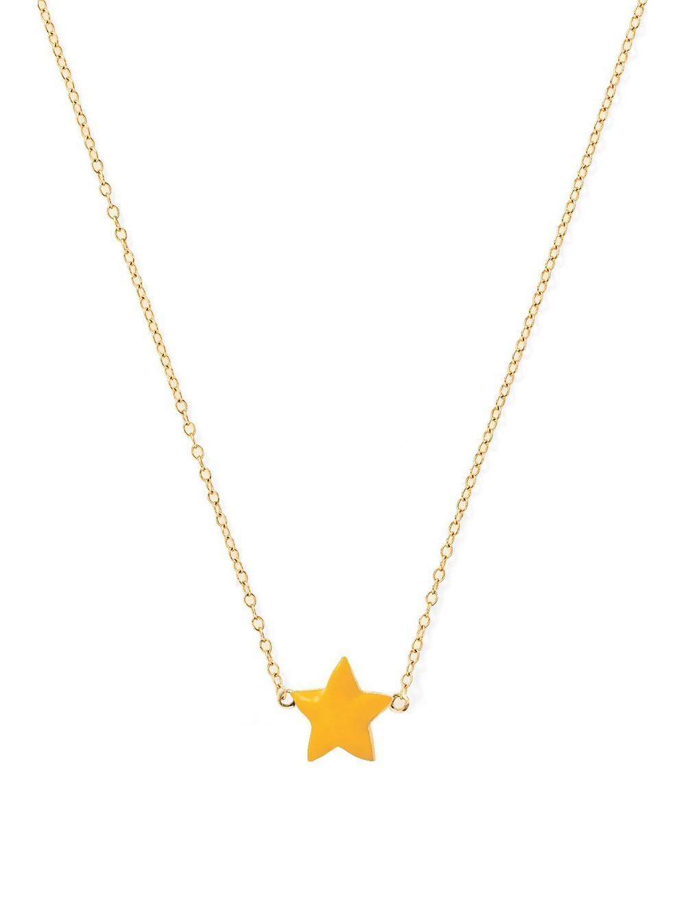 Enamel Star Necklace Item # ALSP42Y