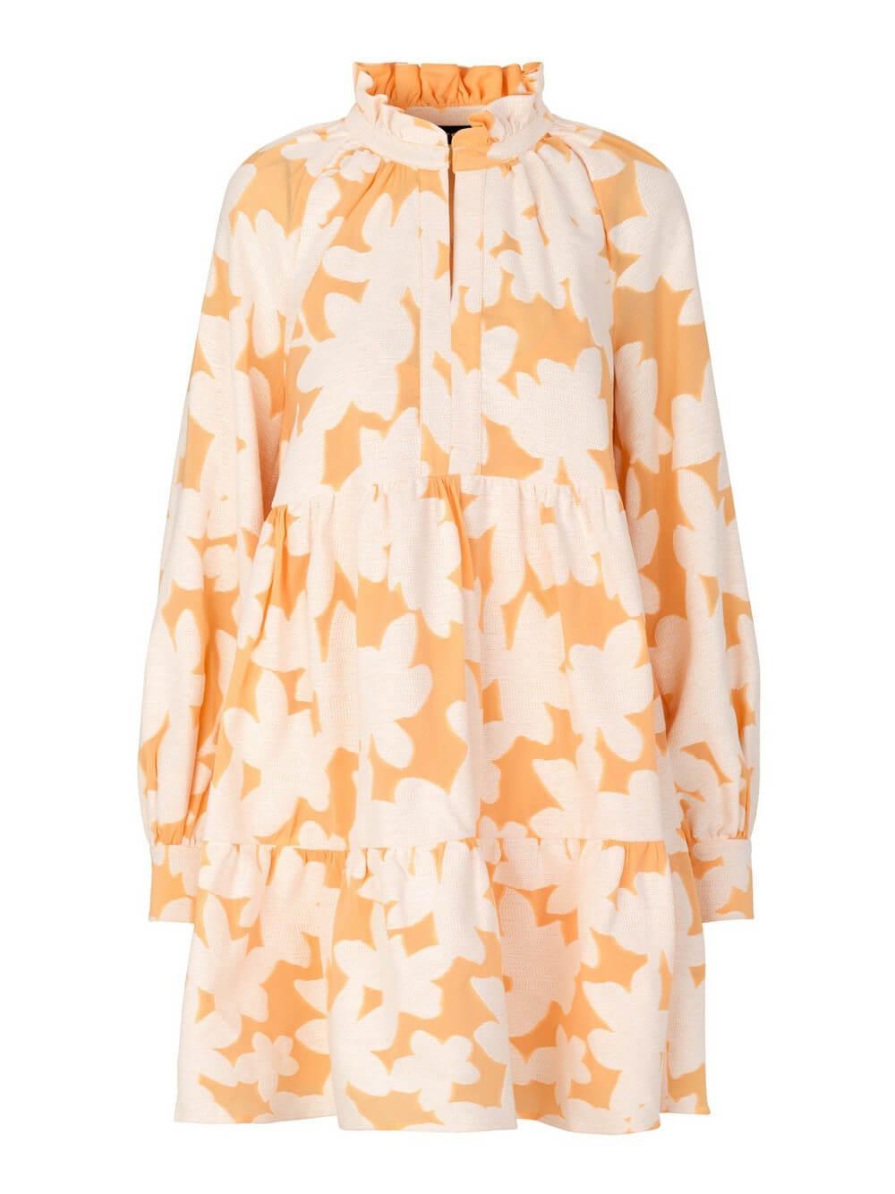 Jasmine Cotton Jacquard Dress Item # SG3114