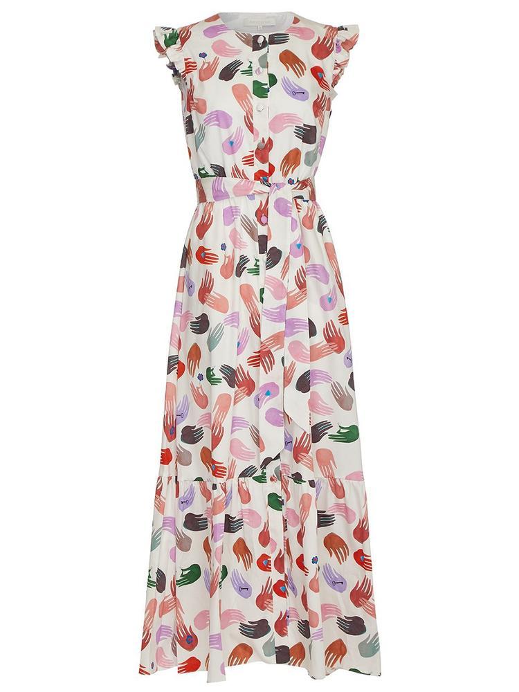 Gabrielle Printed Dress
