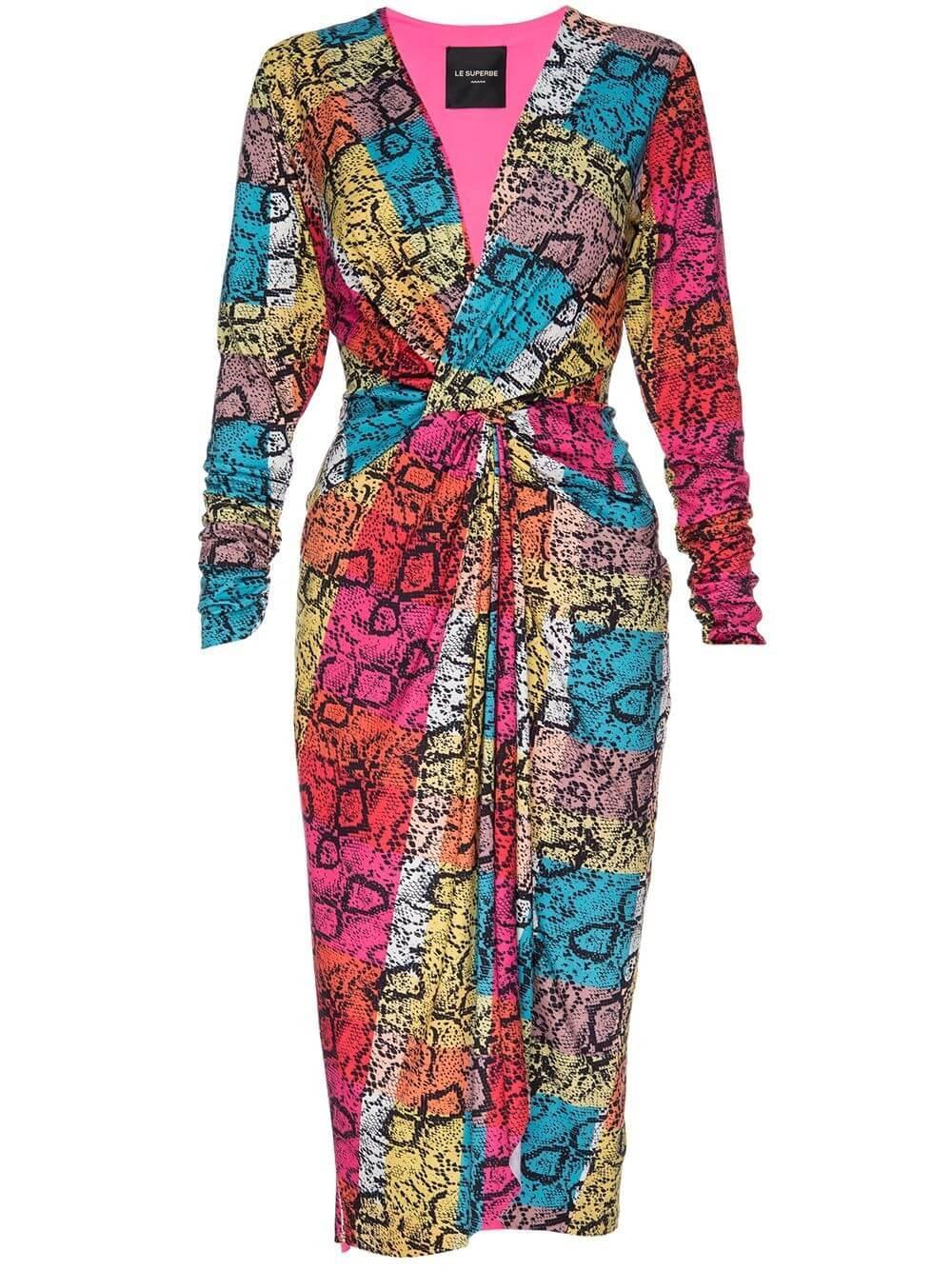 Baller Rainbow Dress Item # SP20-616RS