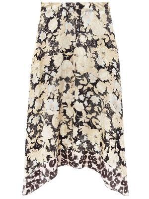 Gold Leaf Fleur Skirt