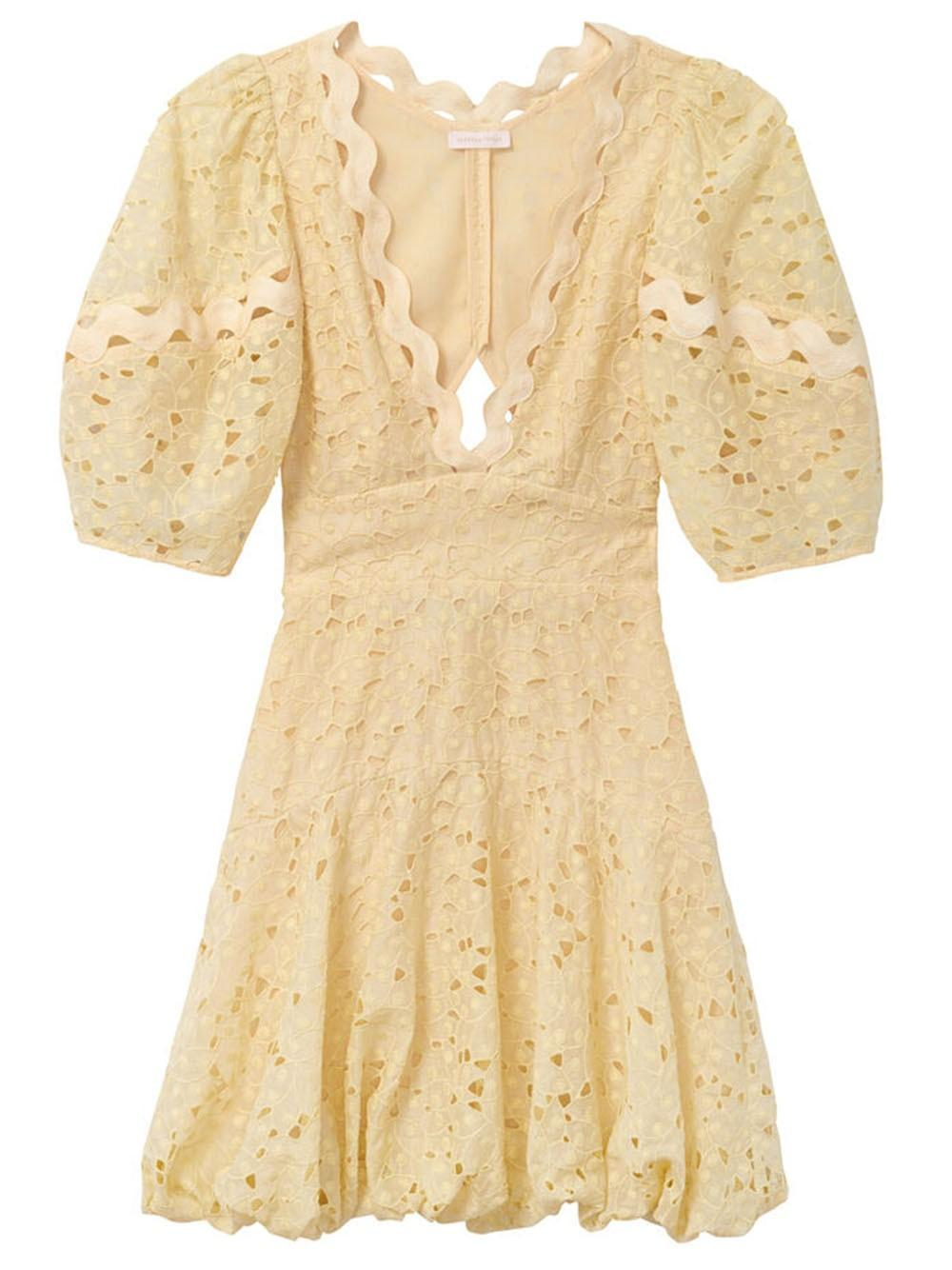 Audrey Eyelet Dress