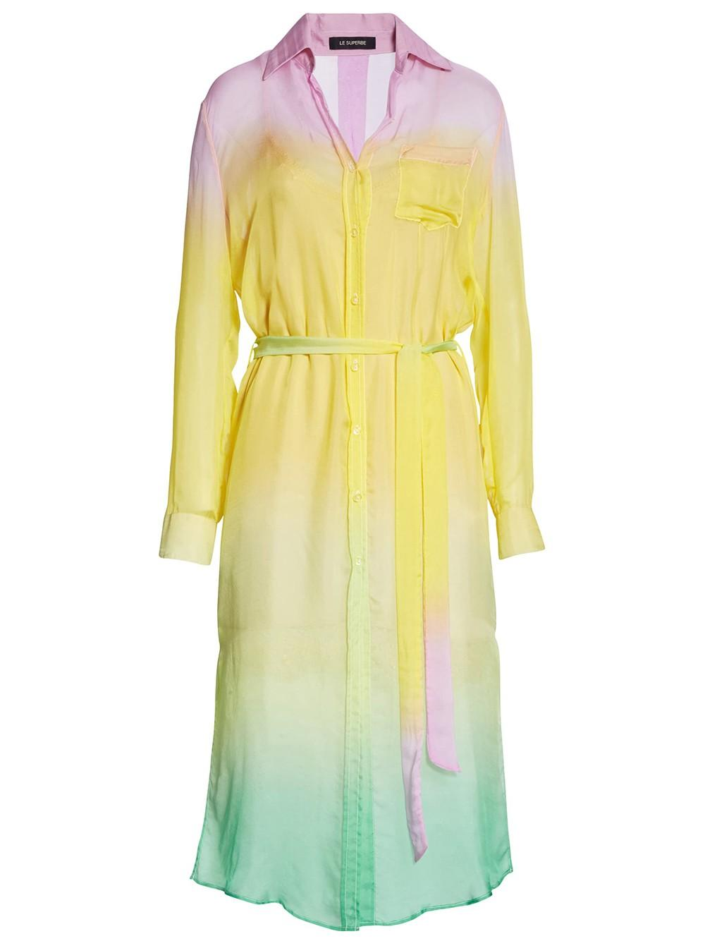 Tequila Sunrise Shirtdress Item # SP20-264MB