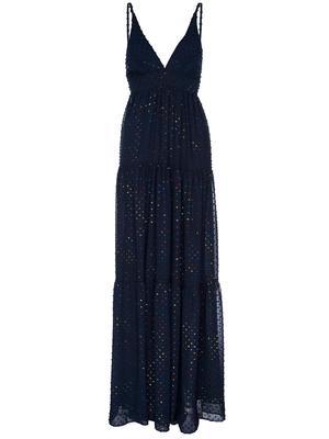 Starry Night Rainbow Maxi Dress
