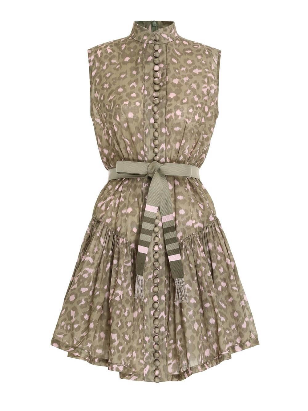 Carnaby Drop Waist Short Dress