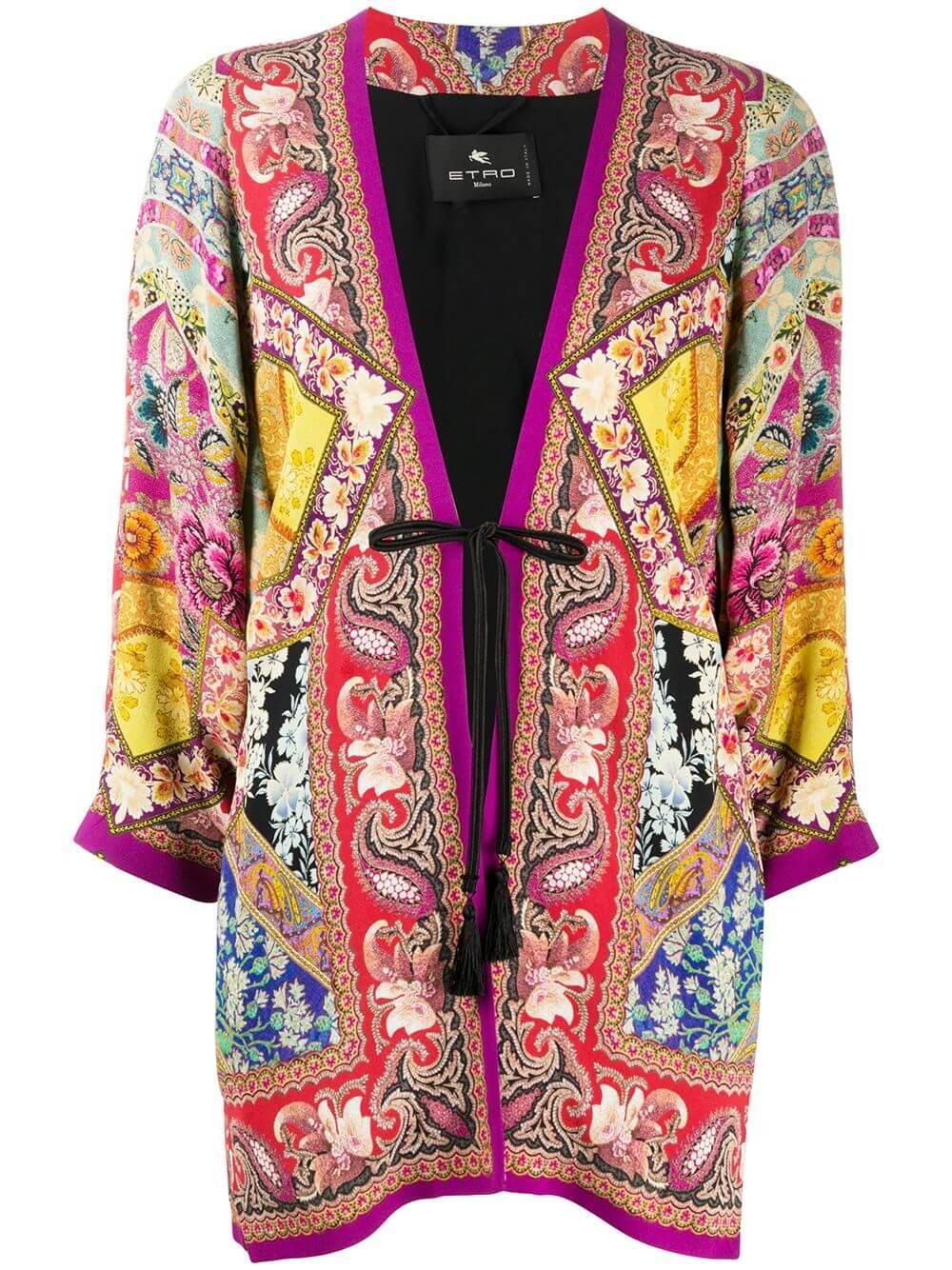 Giacca Campeiro Tie Front Boxy Jacket