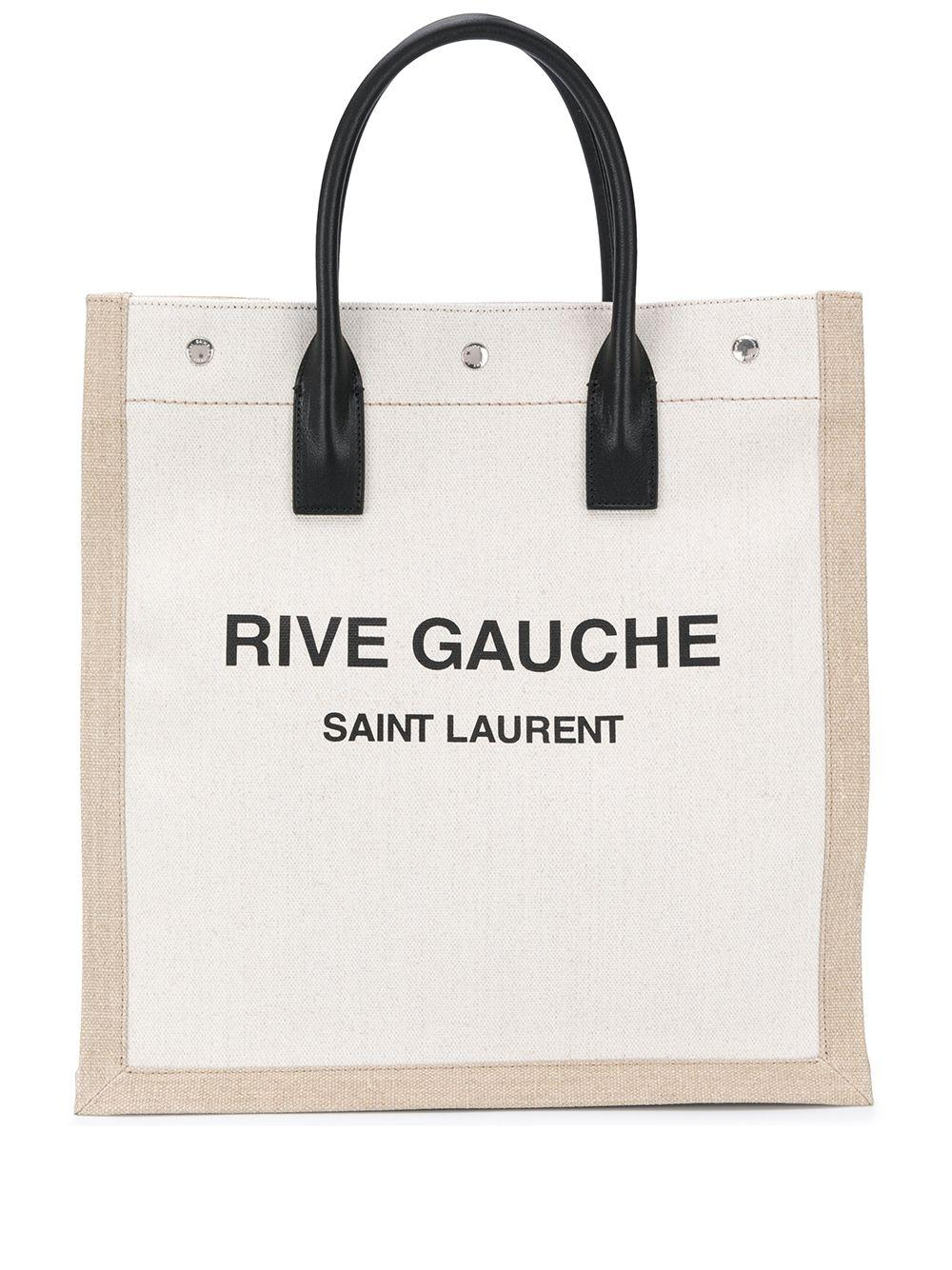 Rive Gauche Canvas Tote Item # 6316829J52E
