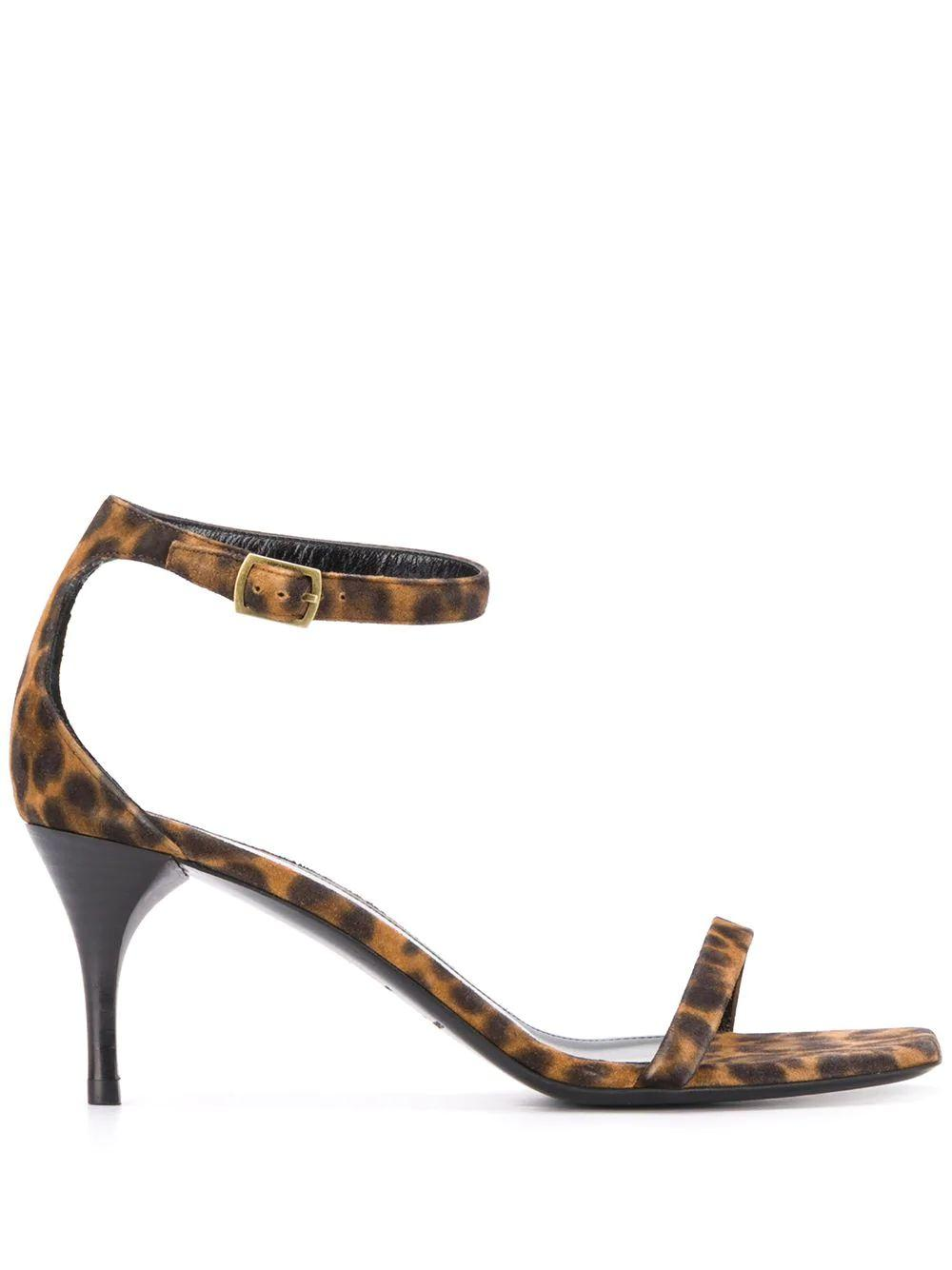 Lexi 65mm Leopard Print Sandal Item # 6324031FL00