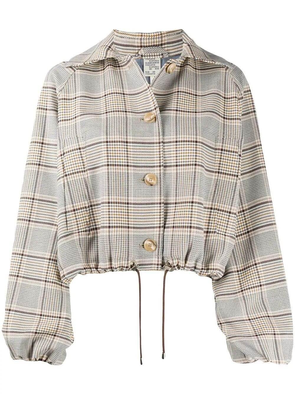 Blair Plaid Jacket Item # 20978