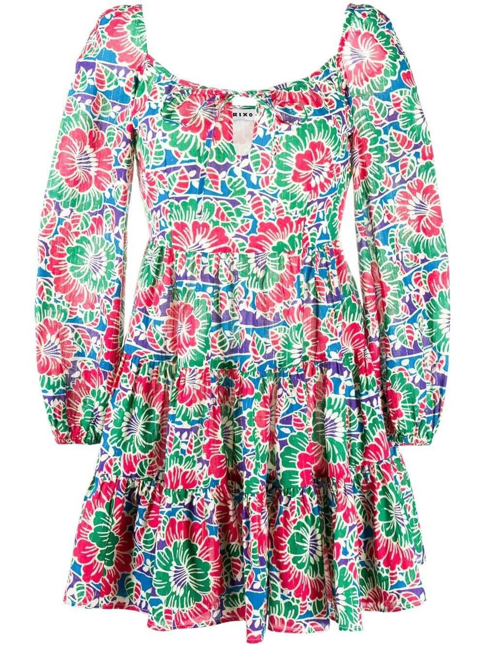 Roxy Floral Mini Dress Item # RIX10-589-320-903