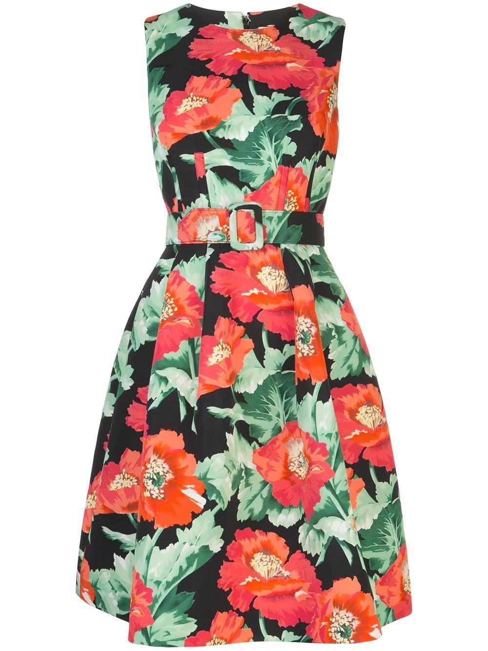 Floral Cocktail Dress Item # 20PN604VPF