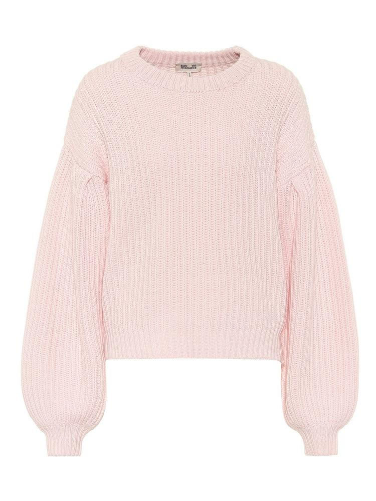 Cerra Ribbed Puff Sleeve Sweater