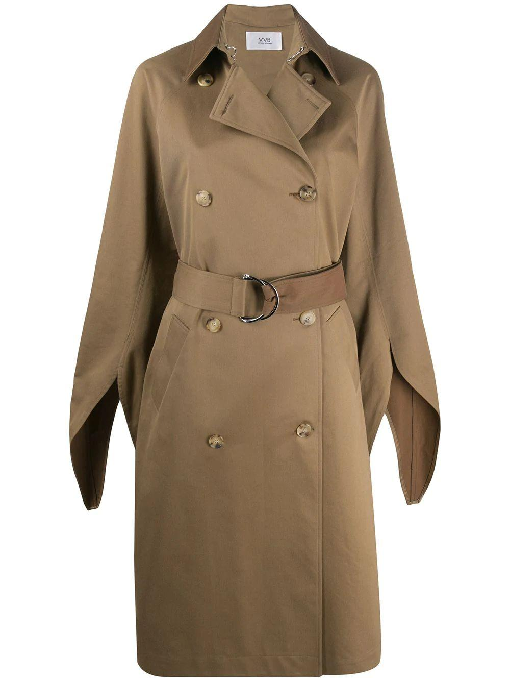 Tie Sleeve Trench Coat Item # 2320WCT001434A