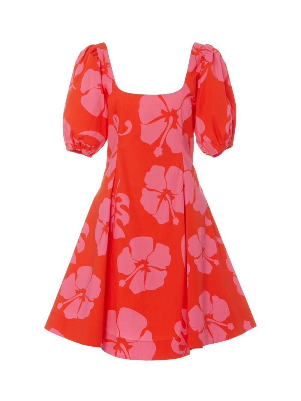 Laelia Puff Sleeve Mini Dress