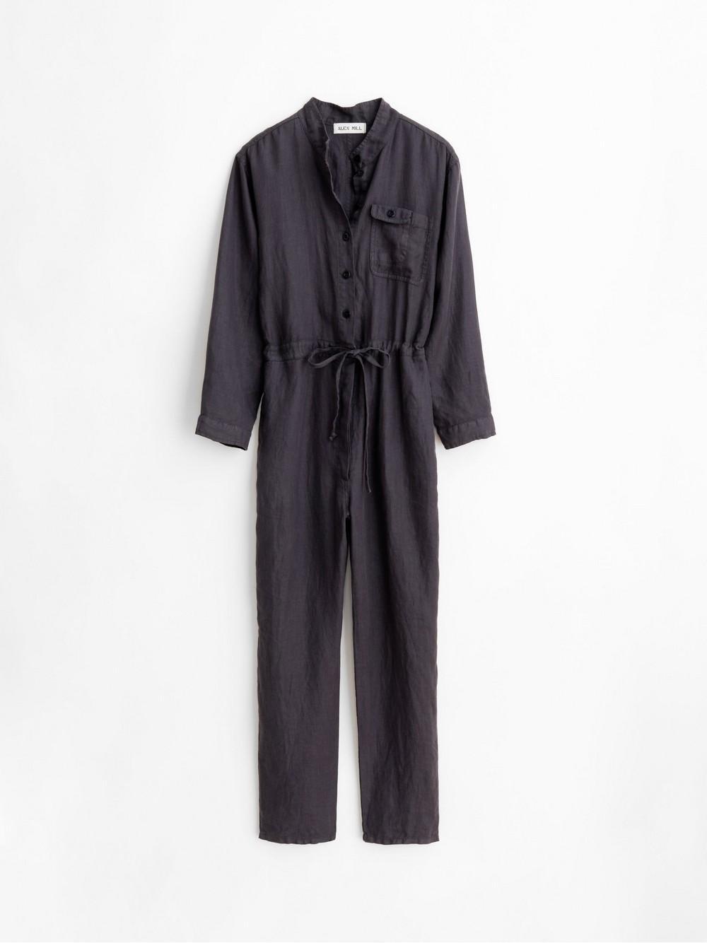 Logan Linen Jumpsuit Item # WP232393-S20