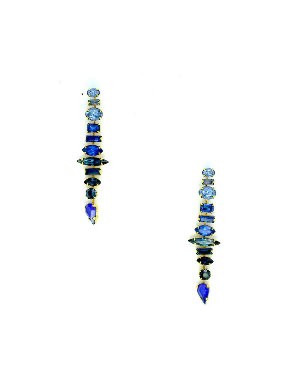Starla Earrings Item # SPSM202E13-BLU-C