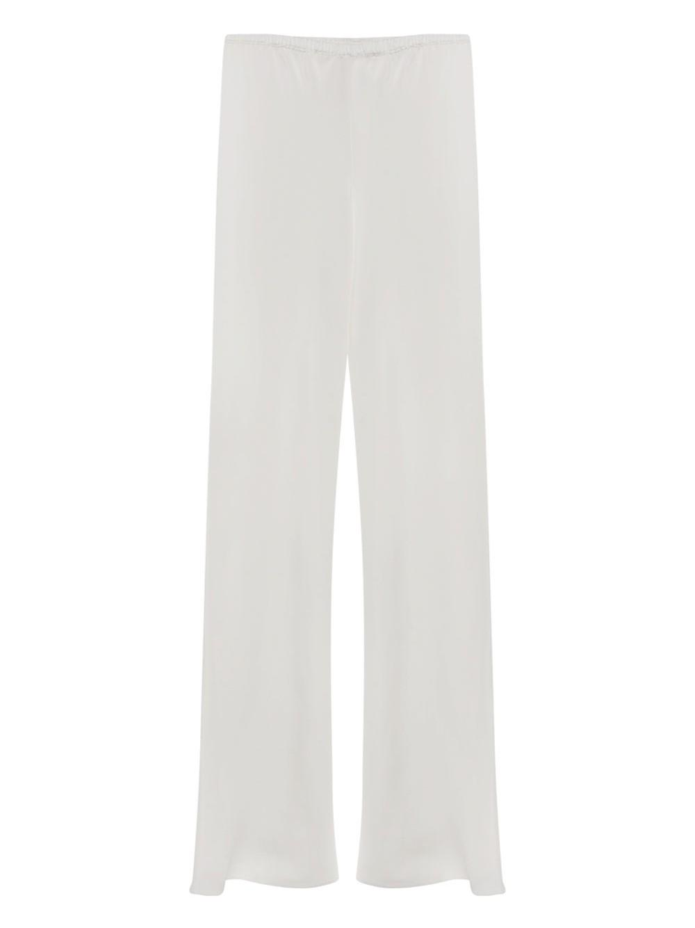 Bias Wide Leg Silk Pant