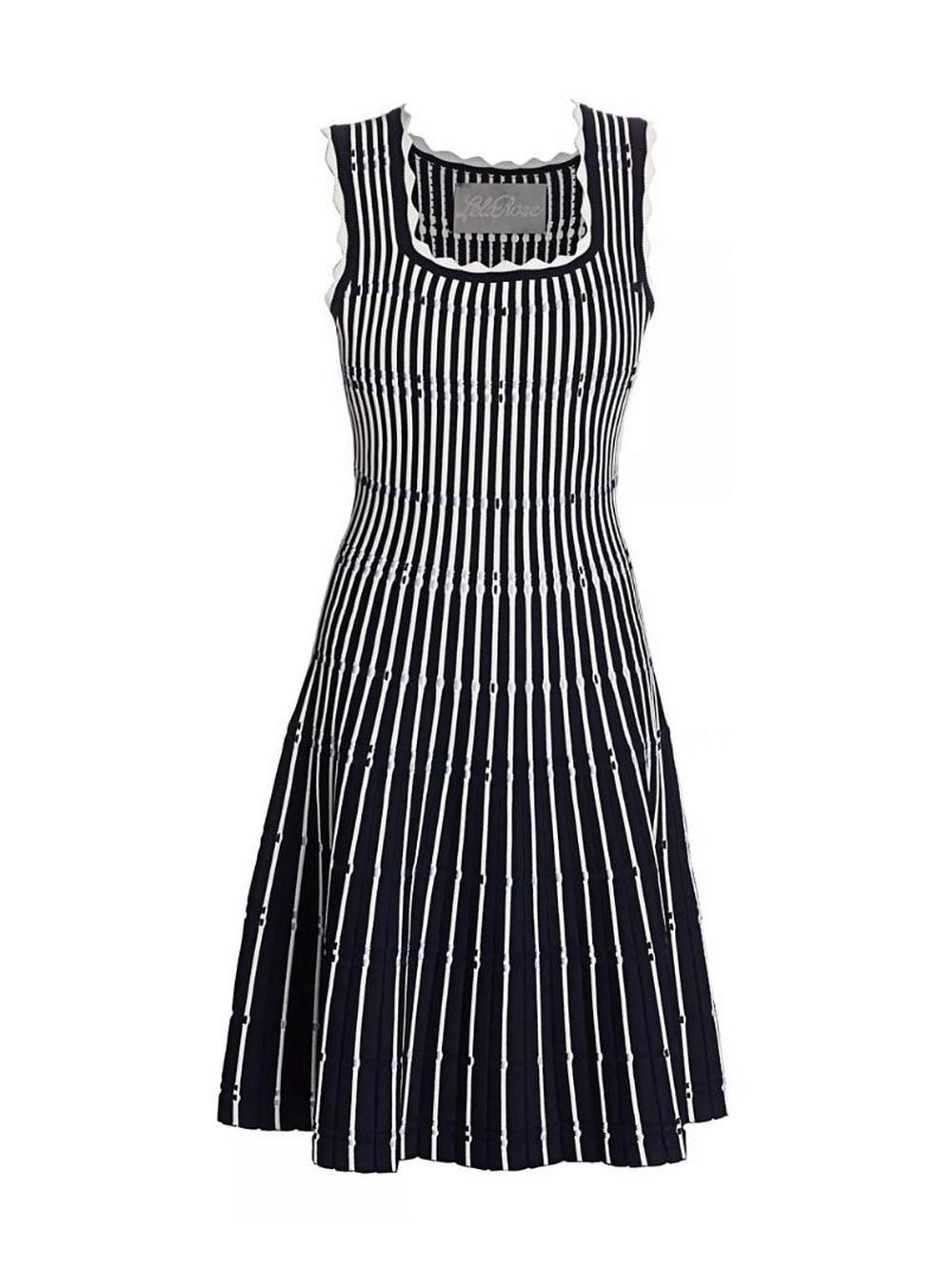 Knit Sleeveless Dress Item # PF20KN3556