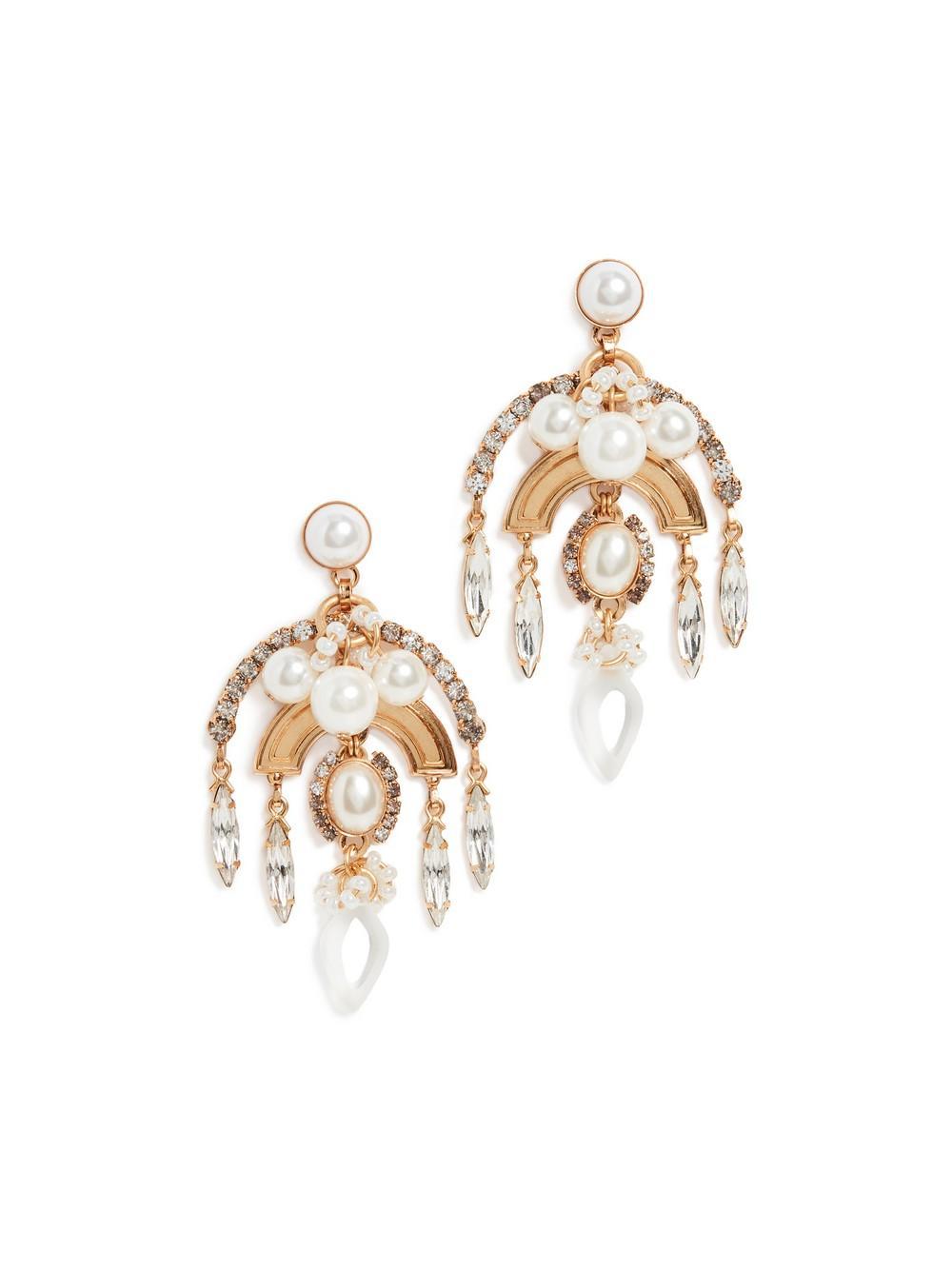 Danna Earrings Item # PF20E6-PRL-C