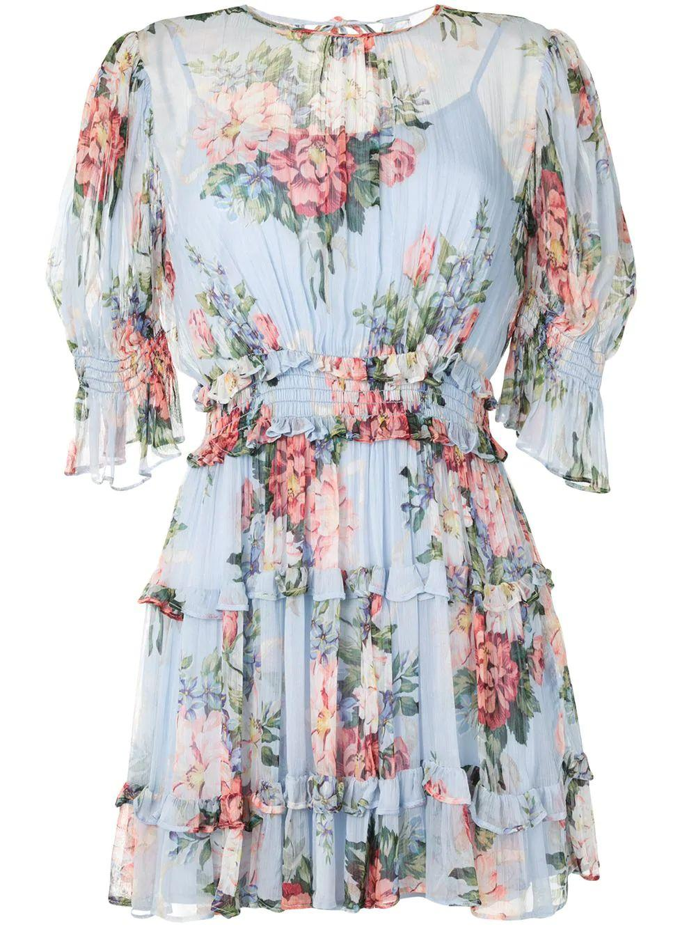 Pretty Things Floral Mini Dress