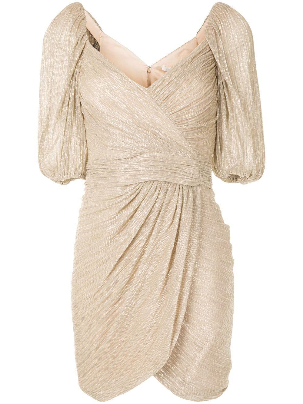 Nina Mini Wrap Dress Item # 320-1015-M