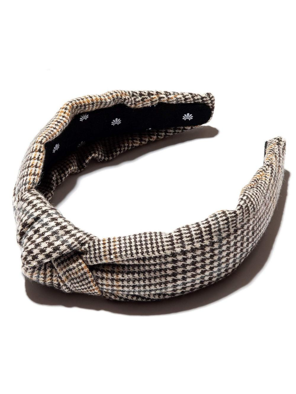 Hickory Houndstooth Headband