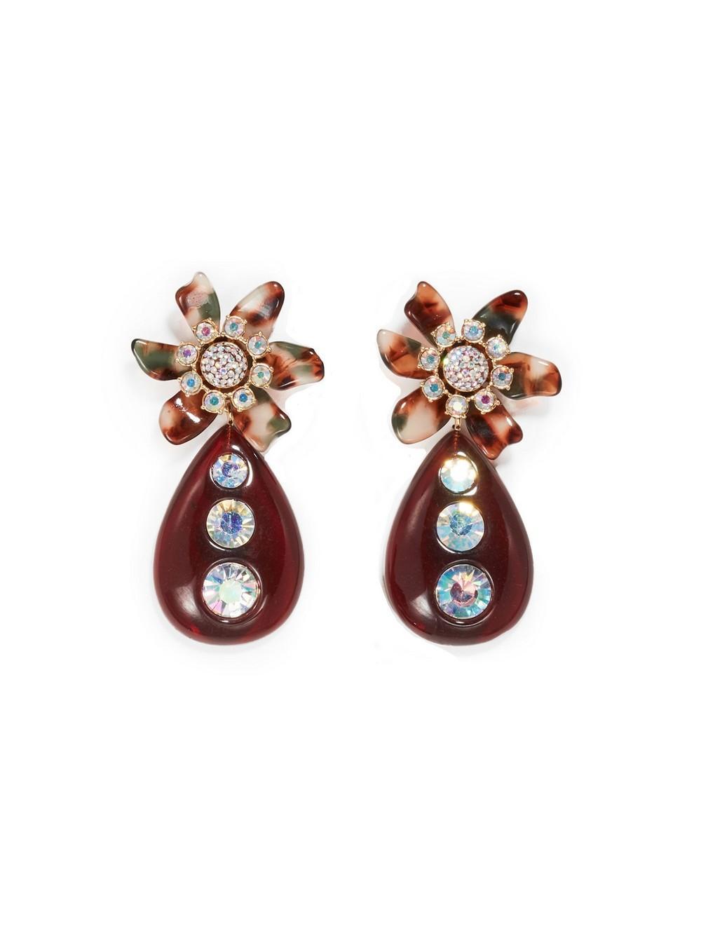 Flower Bulb Earrings Item # LS0961WT