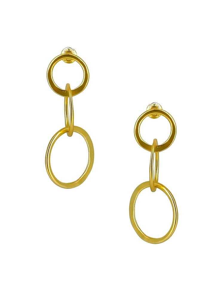 Oh Johnny Earrings Item # CLE3705G